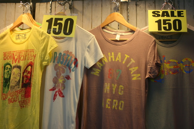 Land of cheap tees!