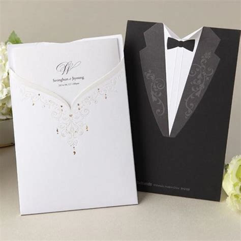 [B*Hands Card] 1 Sample Set Wedding Luxury Invitation
