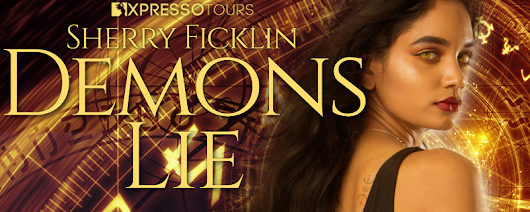 Cover Reveal: DEMONS LIE by Sherry Ficklin