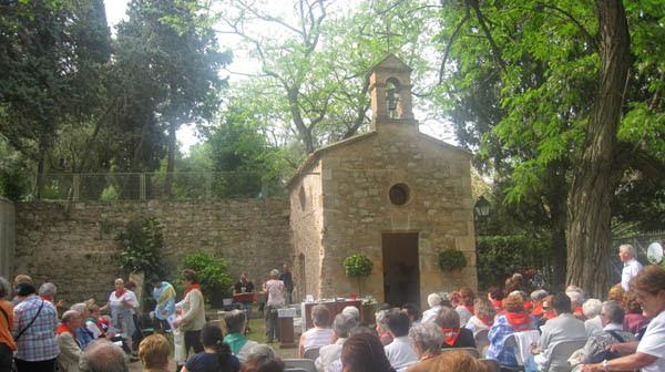 Resultat d'imatges de ermita de santa madrona