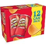 Pringles Grab & Go The Original - Chips - 2.4 oz - pack of 12