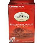 Twinings of London English Breakfast Tea Pods, 12 CT, 1.26 oz. Box, Size: 1.26 fl oz,