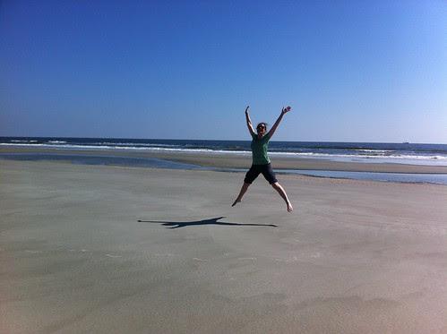 Caprice, deserted beach. Cumberland Island.