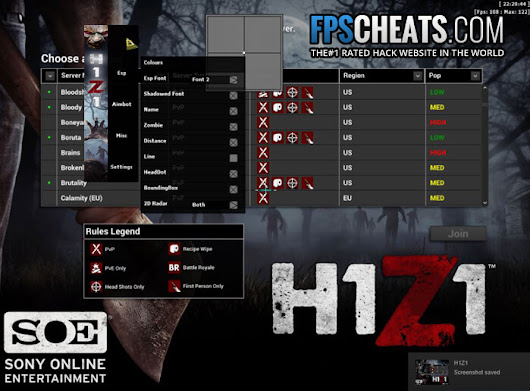 H1Z1 Hacks | ESP Cheats | Wallhack Aimbot - FPSCheats