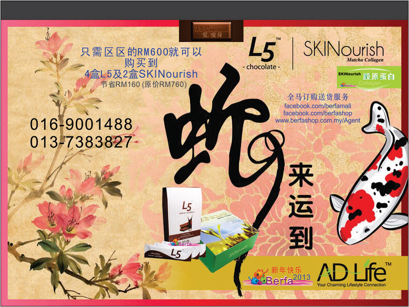L5, Skinourish New Year Promotion Chinese