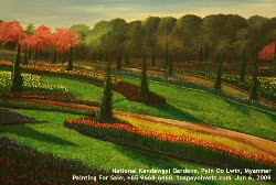 Expressionist paintings - National Kandawgyi Gardens, Pyin Oo Lwin, Myanmar. Toa Payoh Vets