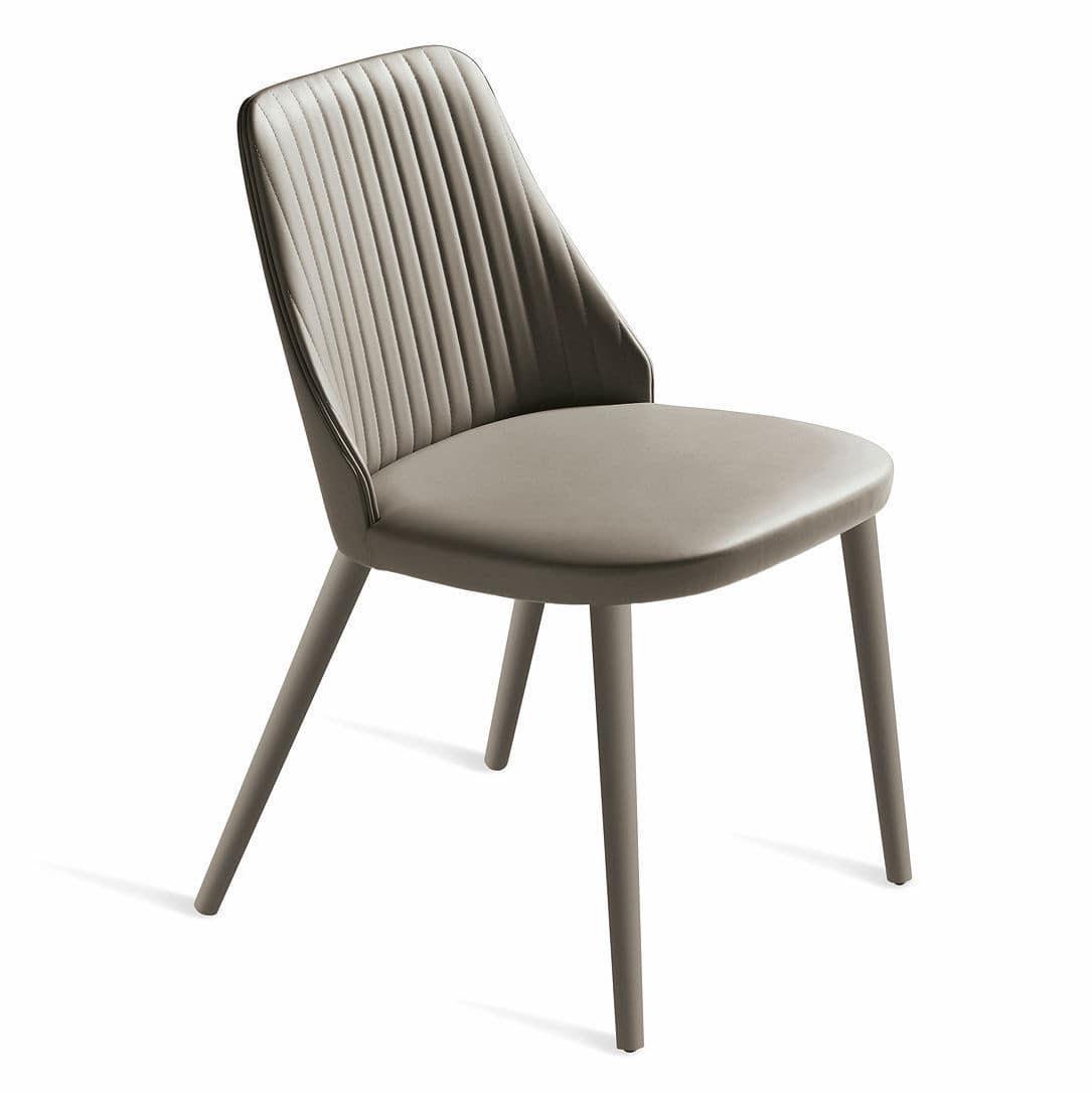 Contemporary upholstered chair - BREAK by Enzo Berti - Bross Italia