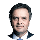 Foto candidato Aécio Neves