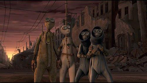 Las cuatro muñecas que permanecieron con vida para ver la Nueva Era son por cierto los cuatro que desafió la regla de 1 y se fue a la biblioteca.