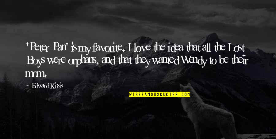 Peter Pan Wendy Love Quotes Top 1 Famous Quotes About Peter Pan