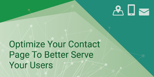 Is Your Contact Page Serving Your Users Effectively? | Blog | Global Reach