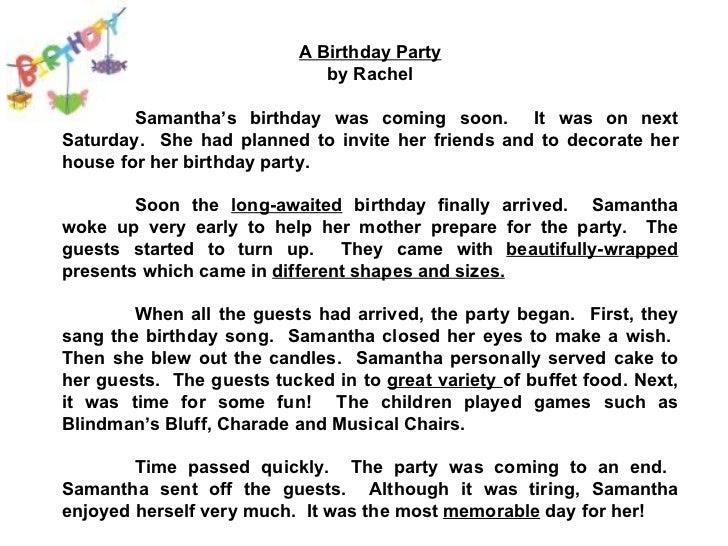 83 INVITATION LETTER BIRTHDAY PARTY FRIEND