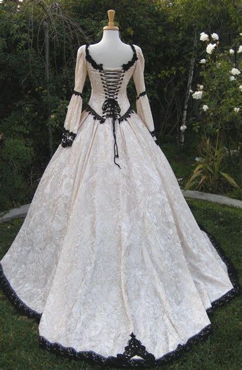 Gothic Renaissance Fairy Medieval Wedding Gown (custom