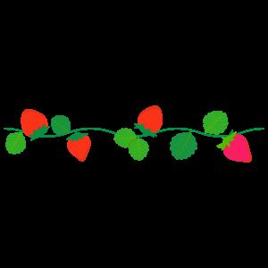 いちごの無料イラスト10 花植物イラスト Flode Illustration フロ
