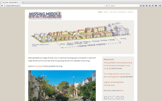 Opticos is Excited to Announce Our New Missing Middle Housing Website! | Opticos Design, Inc.