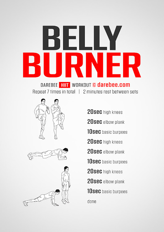 Belly Burner Workout