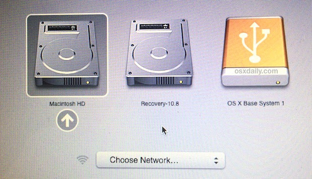 Boot a Mac from an External Drive