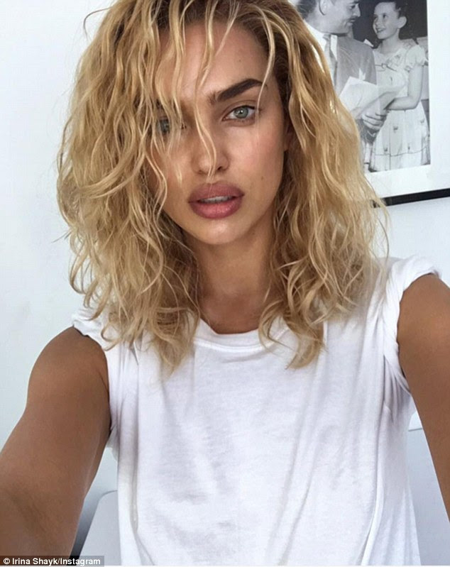 ¿Who said I can't be blonde?¿ Irina Shayk, 30, ditched her dark locks and debuted her lighter locks on Instagram on Saturday