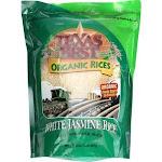 Texas Best Organics Rice - Organic - Jasmine White - 32 oz - Case of 6