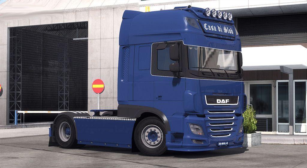 Daf Casa Di Slob  E2 80 A2 Ats Mods American Truck Simulator Mods