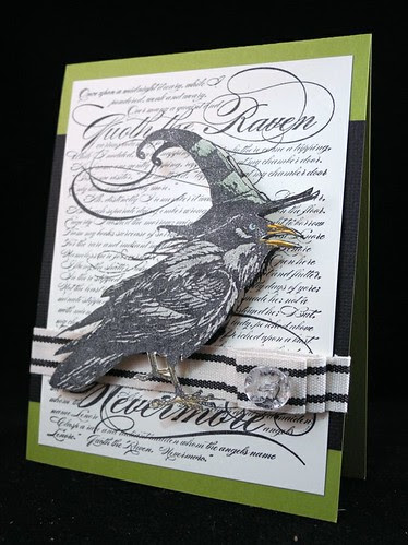 Raven Wobbler Card