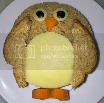 penguin sandwich