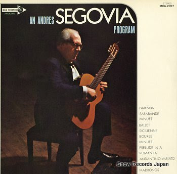 SEGOVIA, ANDRES program