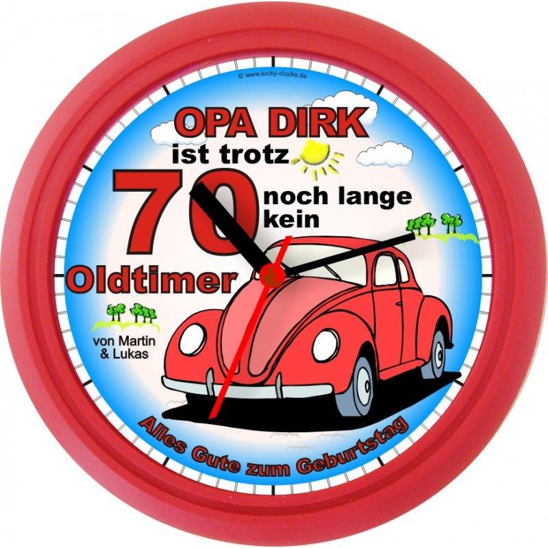 Lucky Clocks Wanduhren Personalisierte Geschenke Für Jeden
