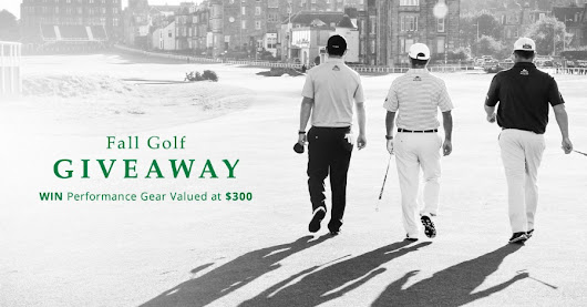 Fall Golf Giveaway