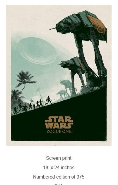 Lamurdi 39 s official blog star wars rogue one official for T shirt printing and distribution
