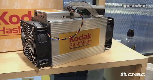 This $3,400 bitcoin-mining machine is a cornerstone of Kodak's crypto pivot