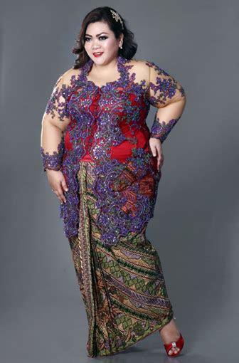 model baju kebaya modern  elegan dikenakan info