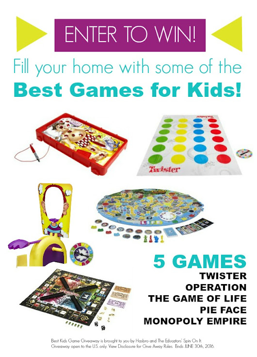 Enter to WIN Best Games for Kids