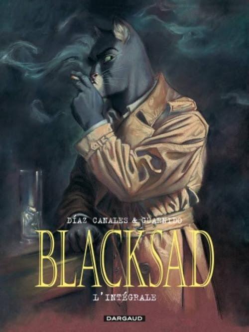 Couverture Blacksad, intégrale