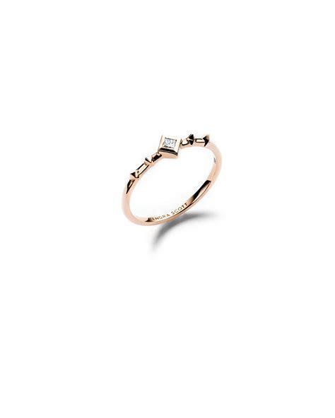 Wave Band Ring   White Diamond   Kendra Scott