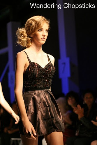 Femme Noir by Phong Hong Debut at Downtown Los Angeles Fashion Week Fashion Angel Awards Emerging Designers Runway Show 17