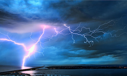 Sun's activity triggers lightning strikes