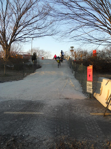 New Detour, south end 14th St bridge