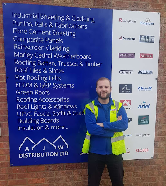 Meet Sam McGhee our Internal Sales Office Junior from our Norwich Depot - AJW Distribution
