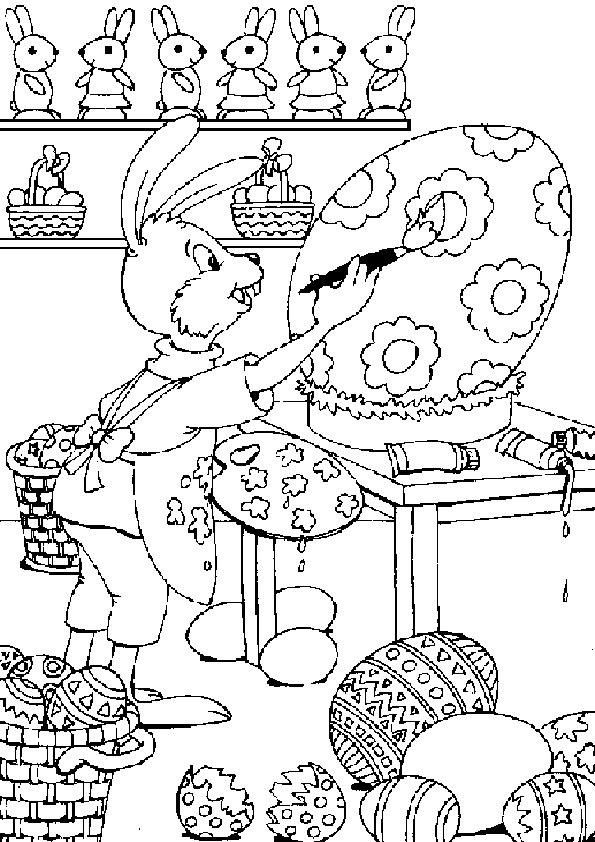 malvorlagen ostern gratis  x13 ein bild zeichnen