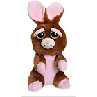 "Feisty Pets Vicky Vicious 8.5"" Plush Rabbit - 54086 - Brown/Pink"