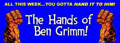 Hands of Ben Grimm