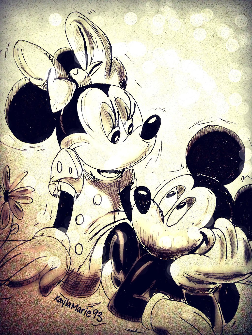 Free Mickey Mouse And Minnie Mouse Love Download Free Clip Art