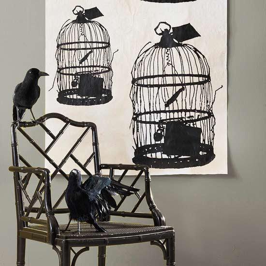Bleak Birdcage Decoration