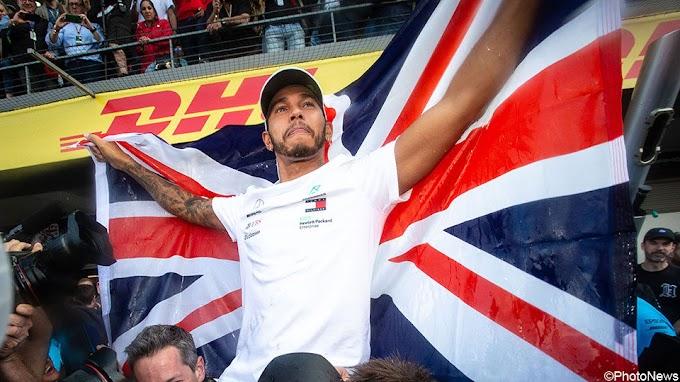 Zeg niet langer Lewis Hamilton, maar wel Sir Lewis Hamilton