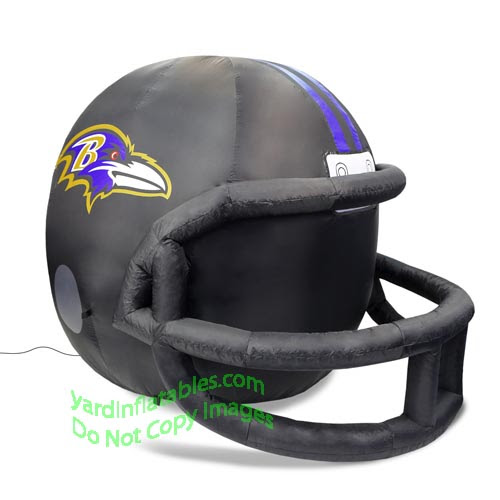 Air Blown Inflatable 4 NFL Baltimore Ravens Team Inflatable Helmet