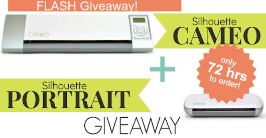 New Year's Giveaway: Silhouette Cameo & Silhouette Portrait!!! -- Tatertots and Jello