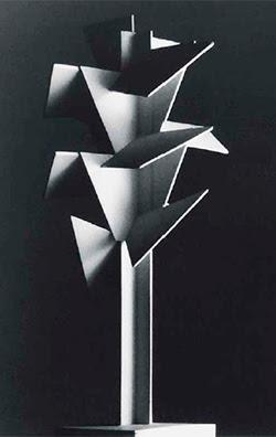 Jan & Joël Martel. Maqueta del Árbol cubista para la Exposicion Internacional de París 1925. Colección F. Langer Martel