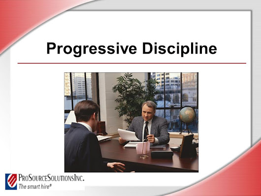Progressive Discipline. © Business & Legal Reports, Inc Session Objectives Apply progressive discipline steps fairly and consistently Identify laws. -  ppt download