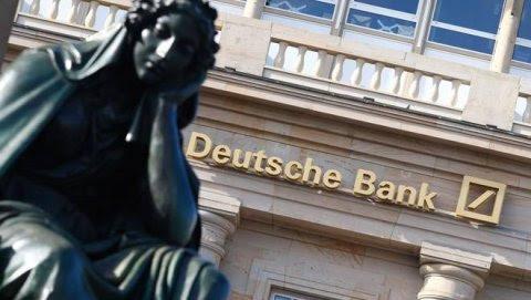 Imagen de archivo de un cartel de Deutsche Bank. REUTERS